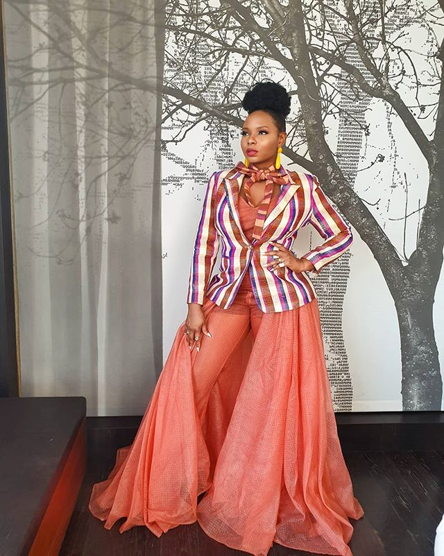 Yemi Alade stuns in red
