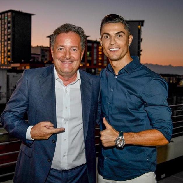 Piers Morgan thinks Cristiano Ronaldo deserves the FIFA Best player