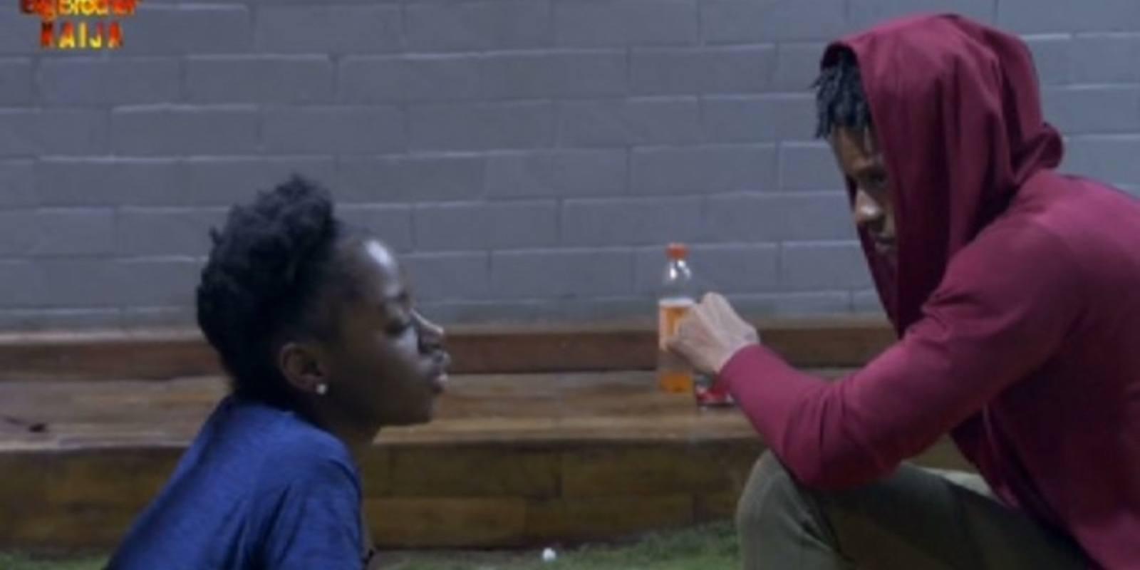 BBNaija Drama; Elozonam wins Head Of House Position and picks Diane as his roommate.