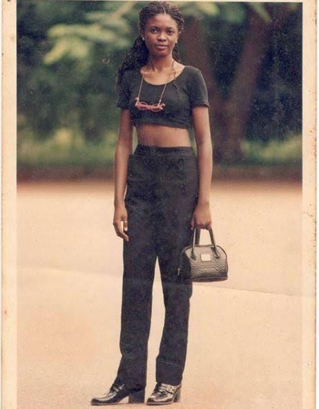 Thursday throwback photo of Omoni Oboli