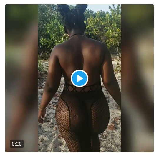 Glamour model says ladies are free to go nude in trending video