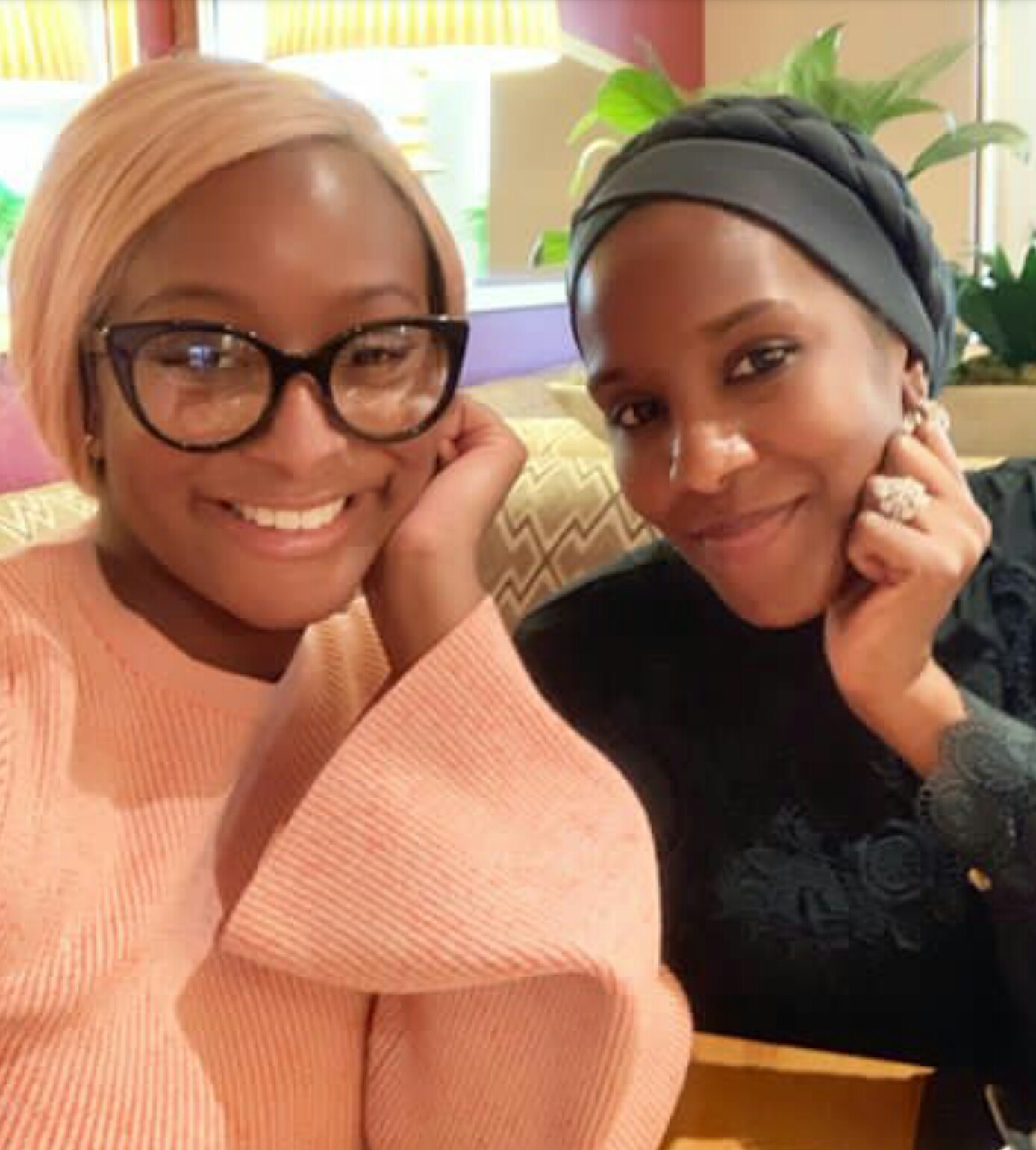Young, rich and connected- DJ Cuppy and Dangote's daughter, Halima pictured together