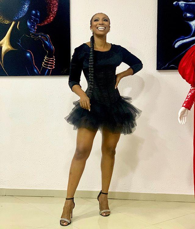 Nigerian TV host Bolanle Olukanni