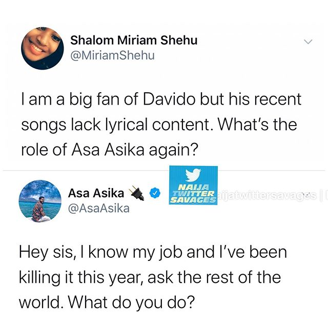 Twitter user tackles Davido on recent songs