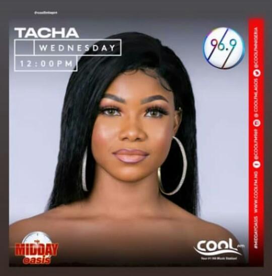 Tacha interview on Cool FM radio