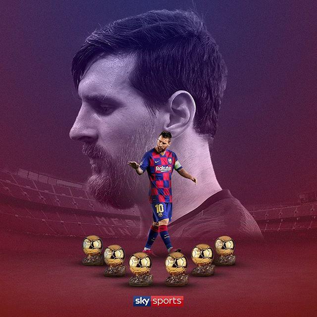 Messi wins his 6th Ballon d'Or