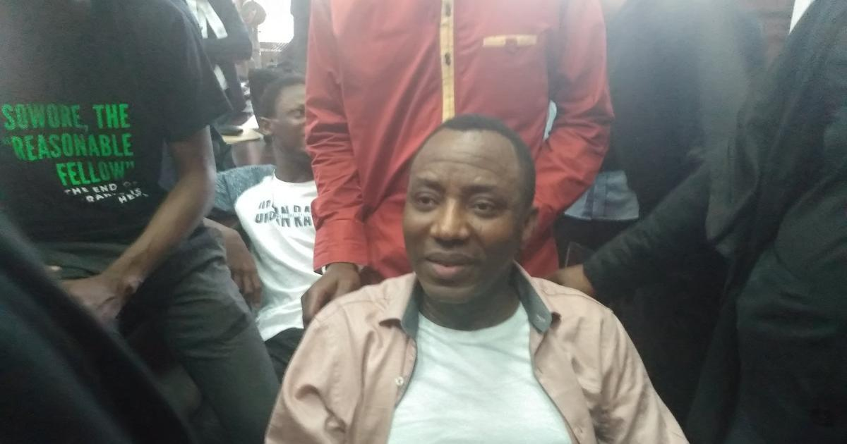 Omoyele Sowore rearrested by DSS