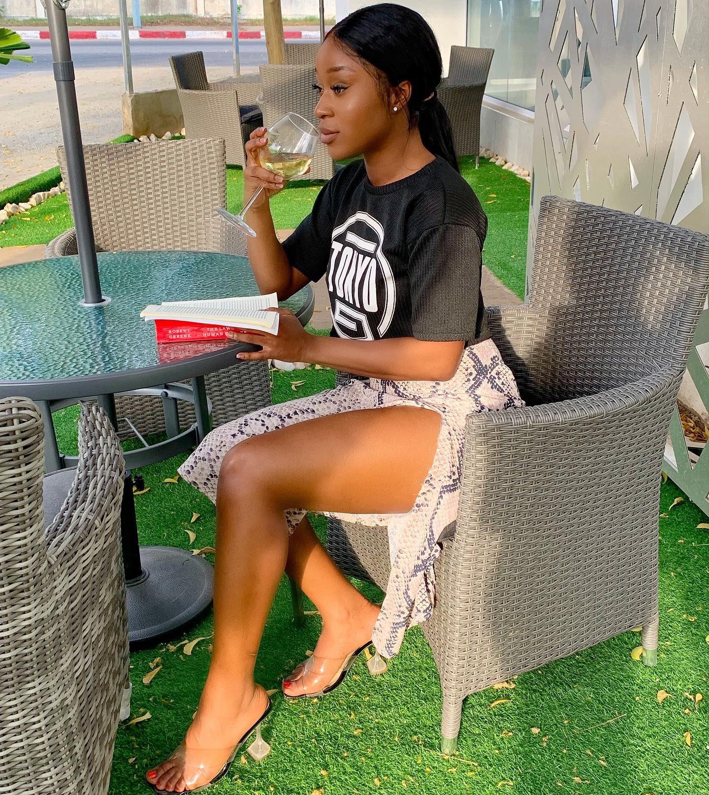Efia Odo slams Ghanaians for excessive lifestyle