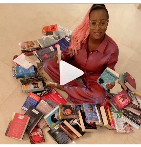 DJ Cuppy wants you to donate books for her library