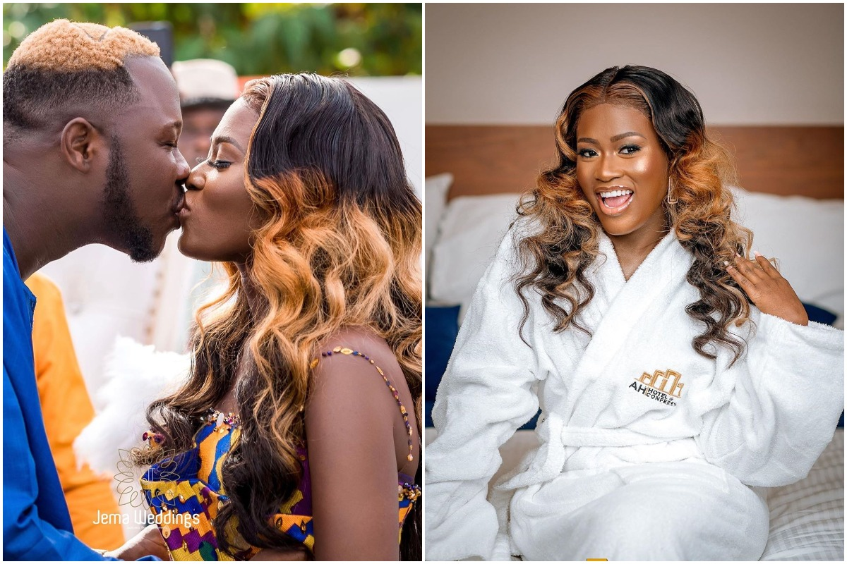Actress Fella Makafui cries out as corona stop her from traveling to Paris