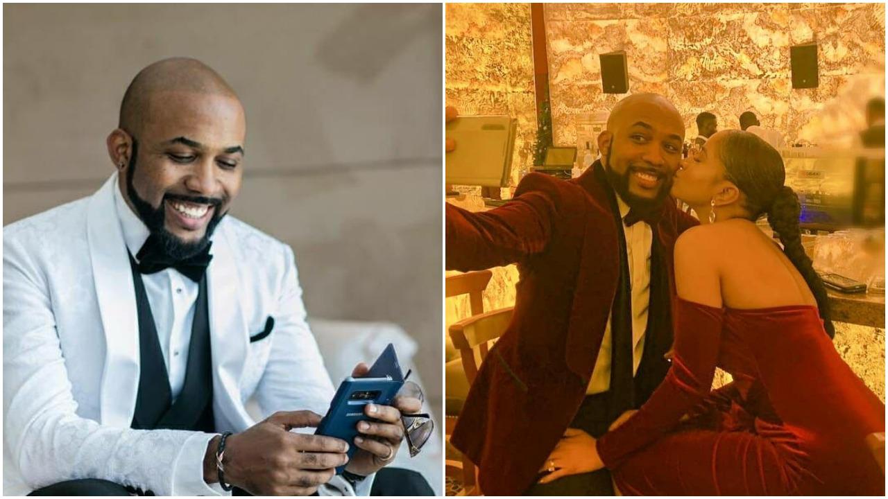 Adesua Etomi pens heartfelt message to celebrate Banky W's 39th birthday (Photos)