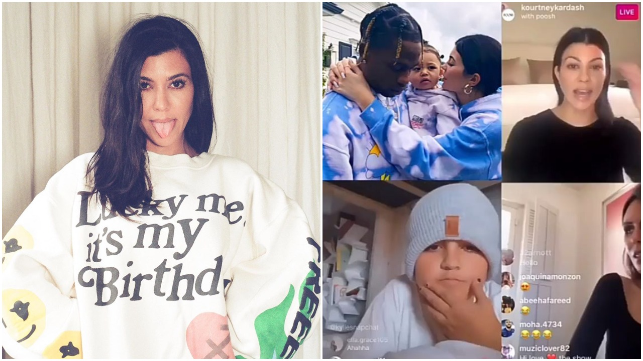 Kourtney delete son's Instagram over Kylie and Travis relationship (video)