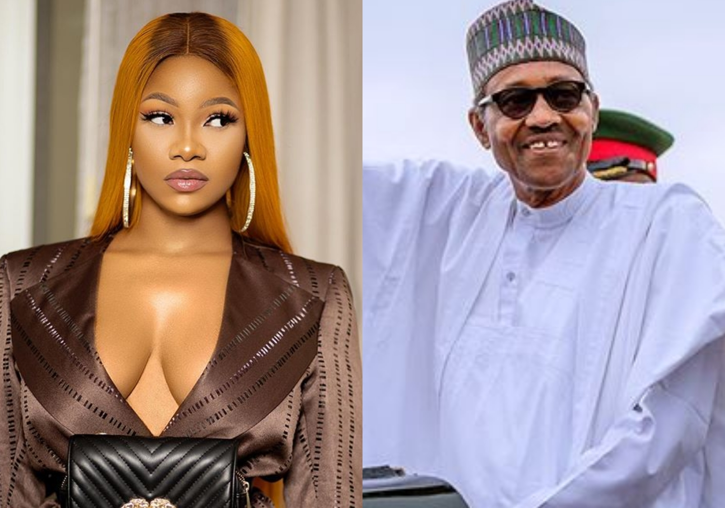 Tacha calls out Pres. Buhari, ask him to stop addressing Nigerians on Twitter (Video)