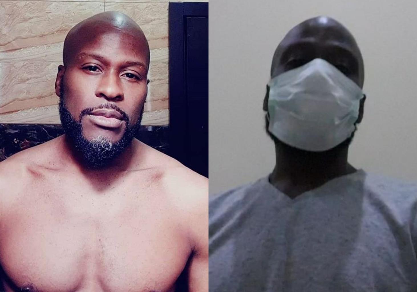Singer Ikechukwu gets tested for Coronavirus, awaits result (Video)