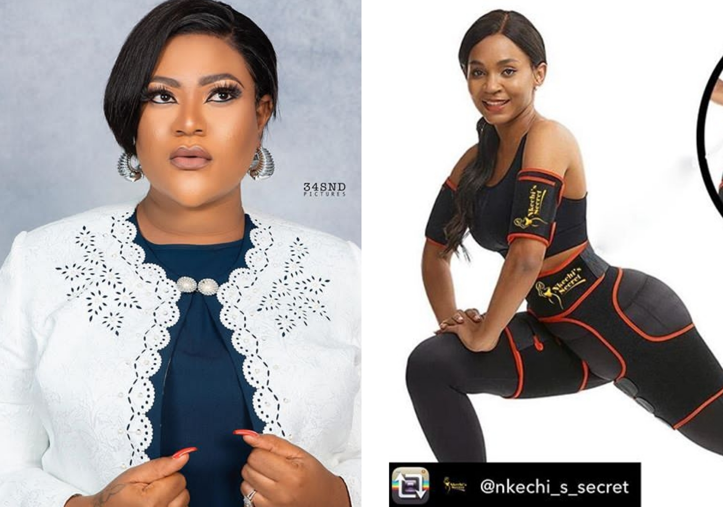 Nkechi Blessing starts pre-order of waist trainer, Nkechi's Secret after first set got sold out