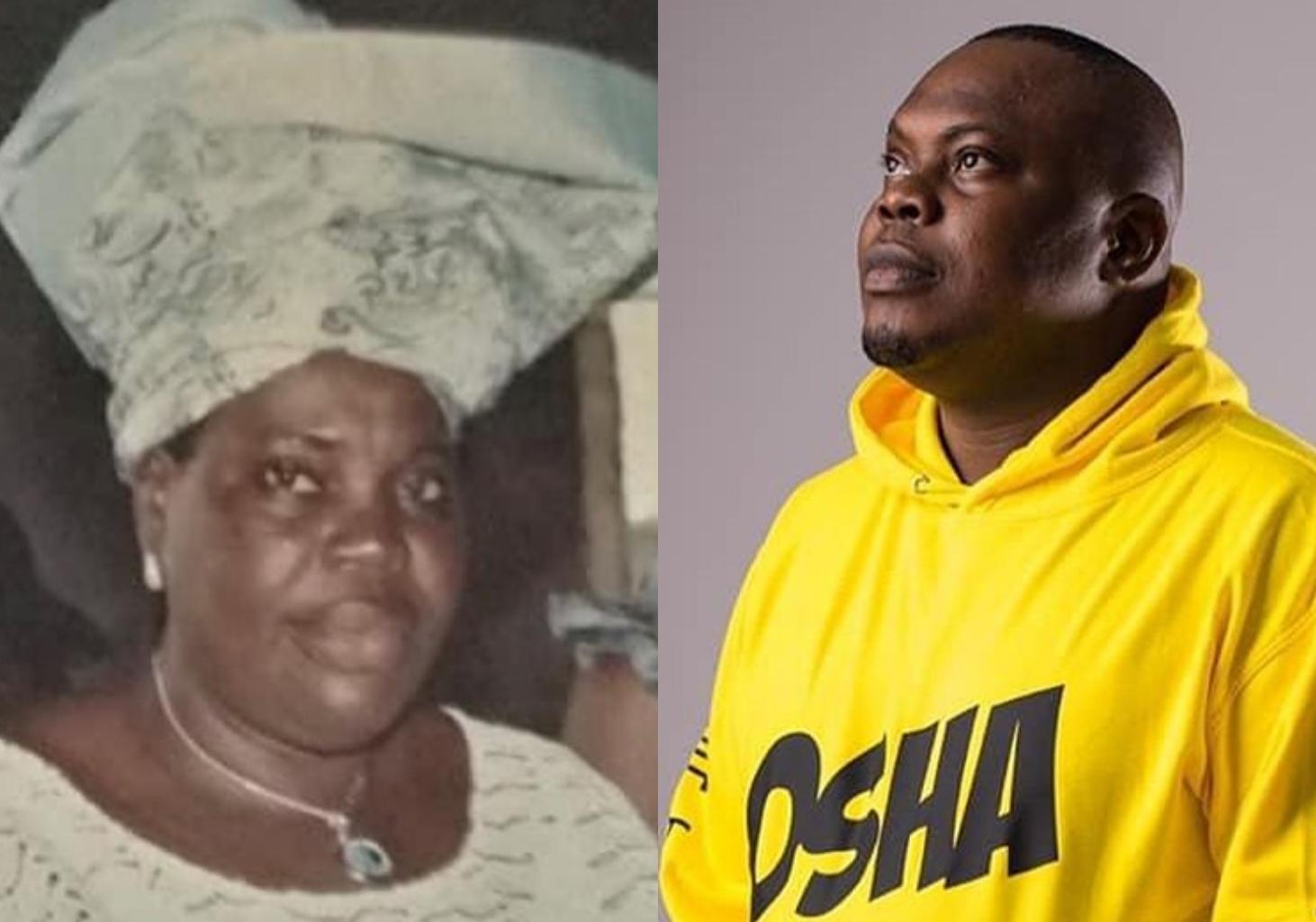 """She sang with her last breath"" – Bankulli Oosha remembers late mum (Photo)"