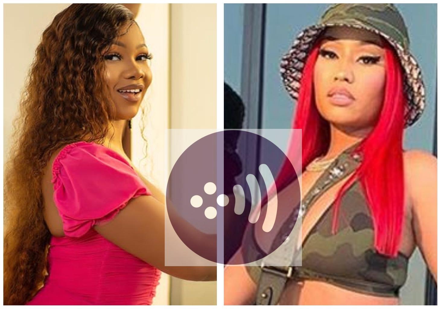 """OMG YAAS"" – Tacha reacts to Nicki Minaj hitting no 1 spot on Billboard's Hot 100 list with ""Say So"" Remix"