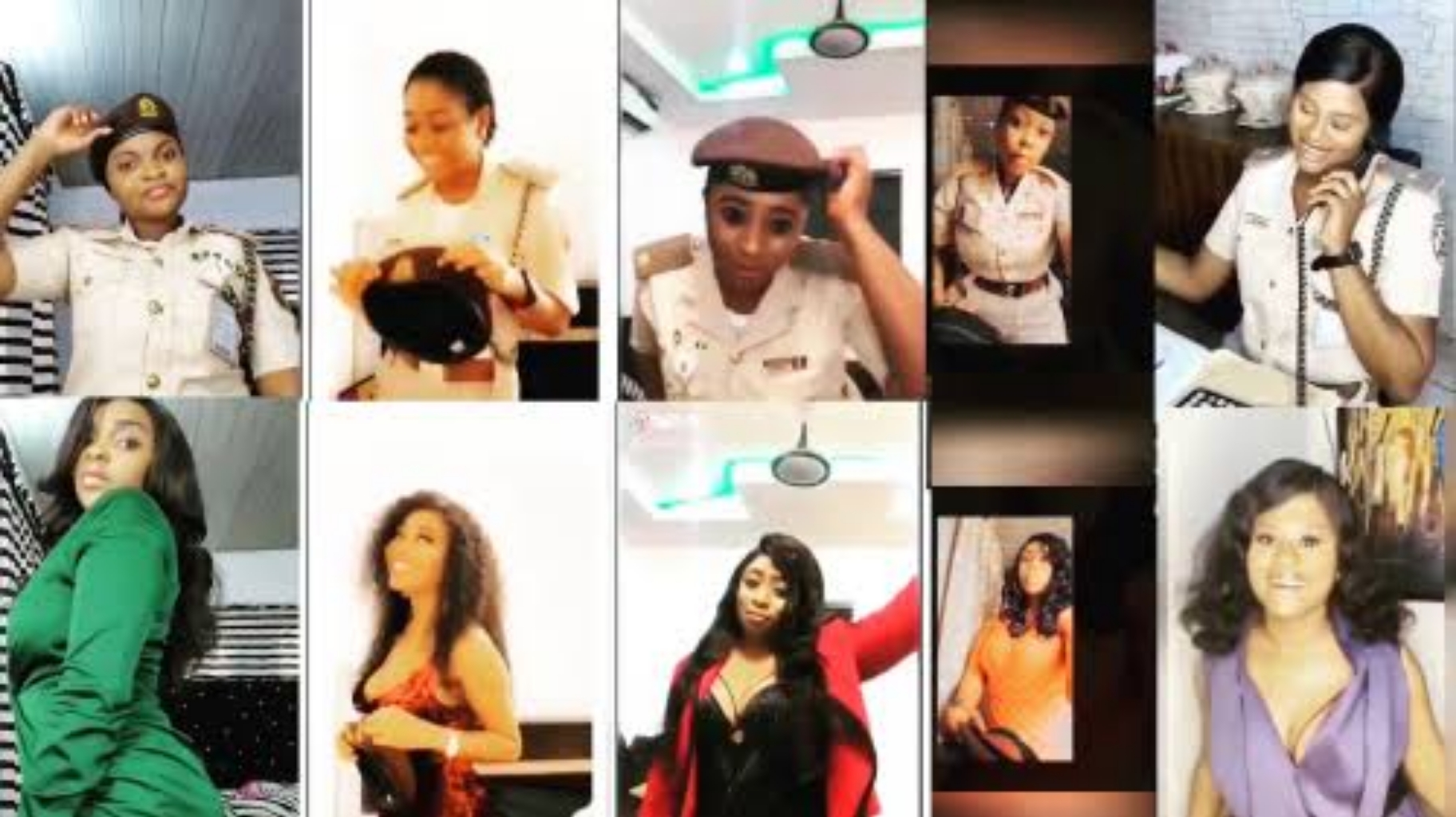 #BopDaddyChallenge: NIS suspends reposting of female officers after Falz' intervention