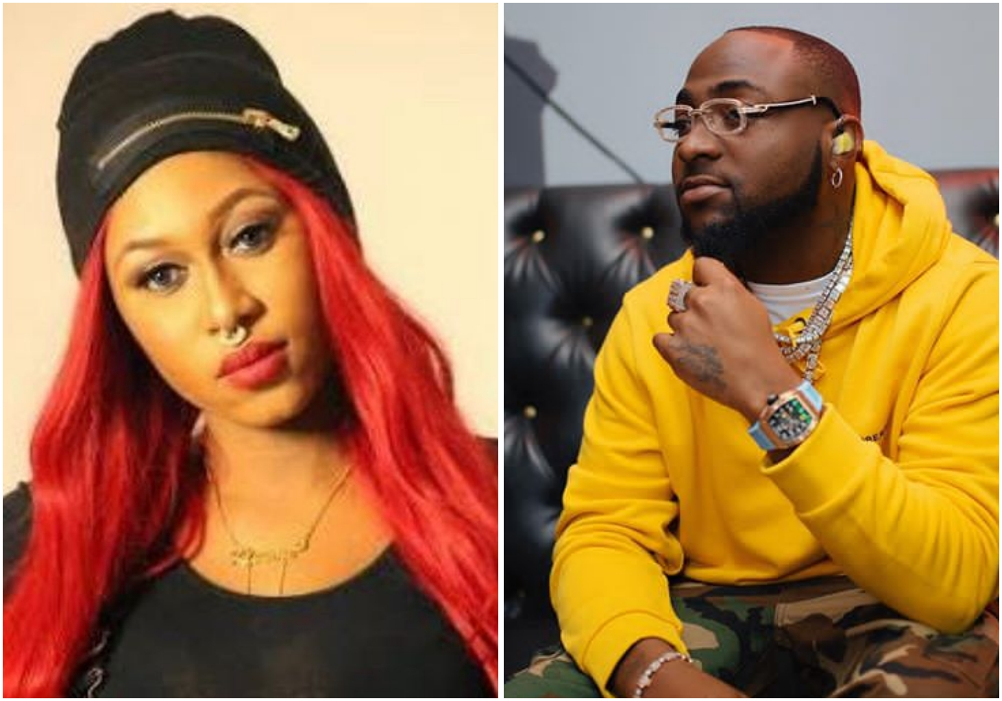 Davido set to revive Cynthia Morgan's career, to feature her in his next single