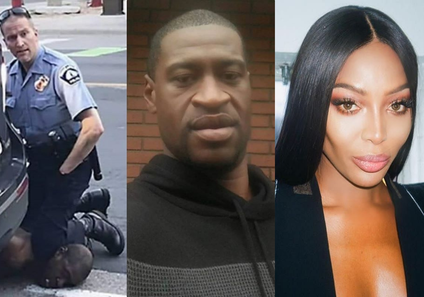 Naomi Campbell seeks justice for Black American man murdered by police in Minneapolis