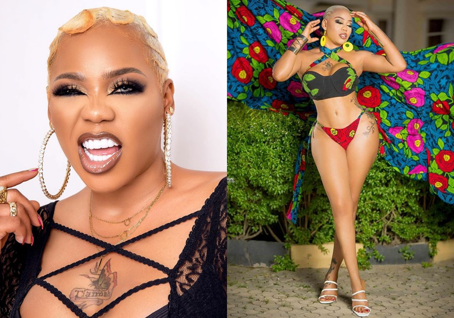 """""""Beauty with Brains"""" – Toyin Lawani tension IG with new sultry photos"""