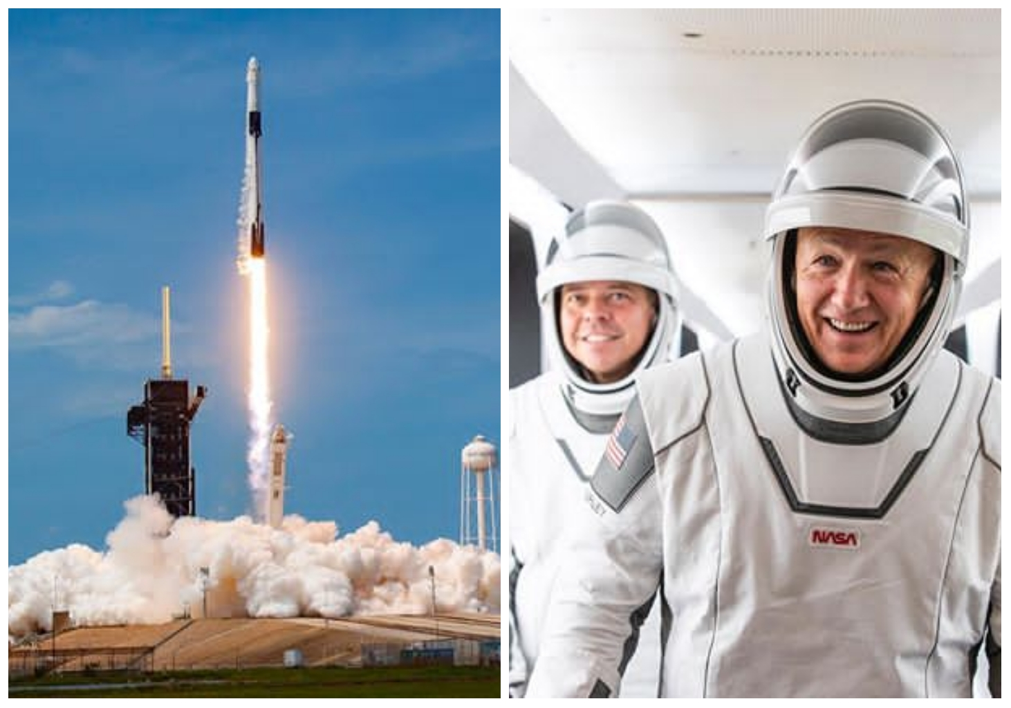 SpaceX successfully launches NASA Astronauts to Space Station