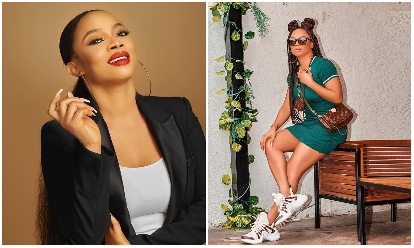 Toke Makinwa dish out new fashion goals as she stuns out in lovely two piece outfit (Photo)