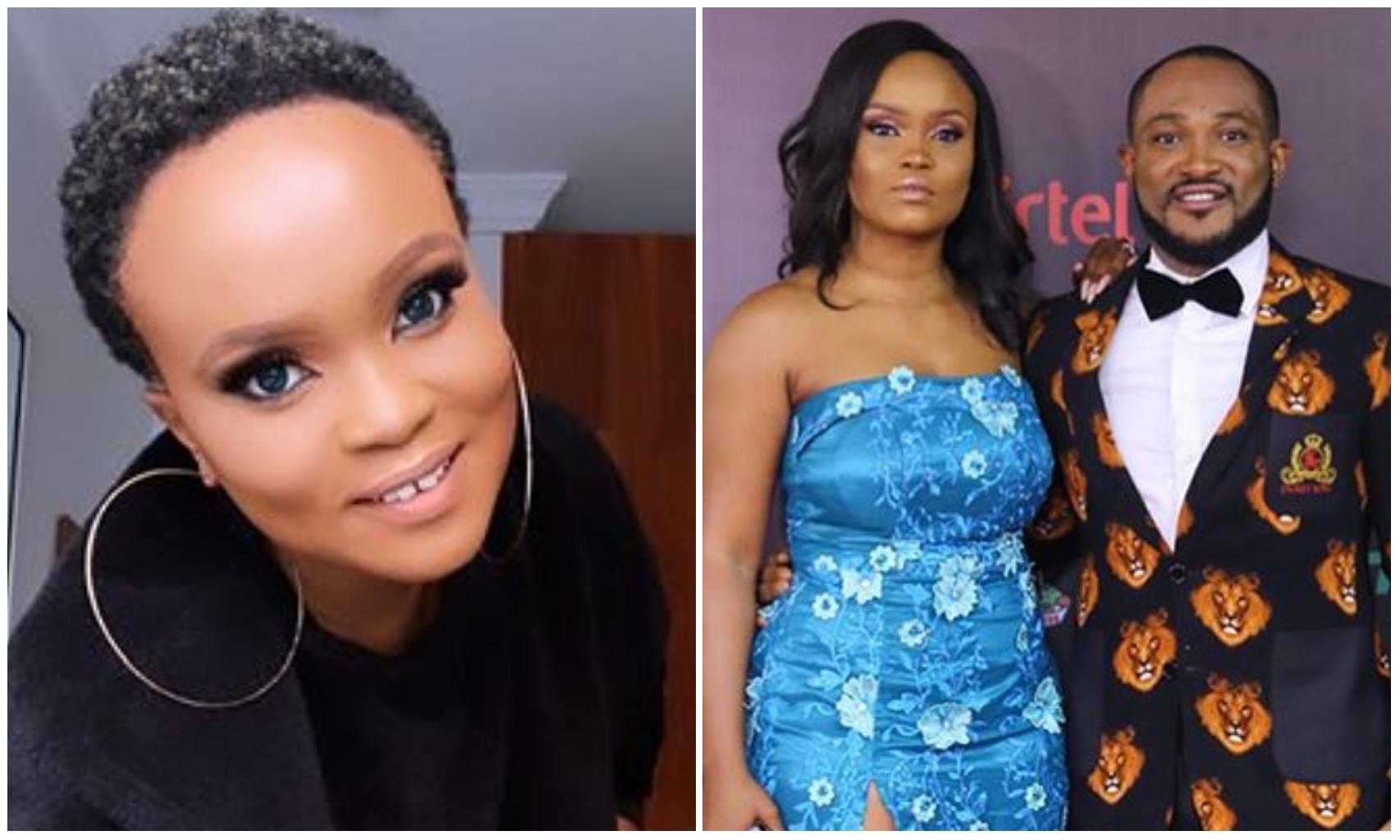 """I'm a miss not a Mrs"" – Blossom Chukwujekwu's enstrangle wife, Maureen Esisi clear fans"
