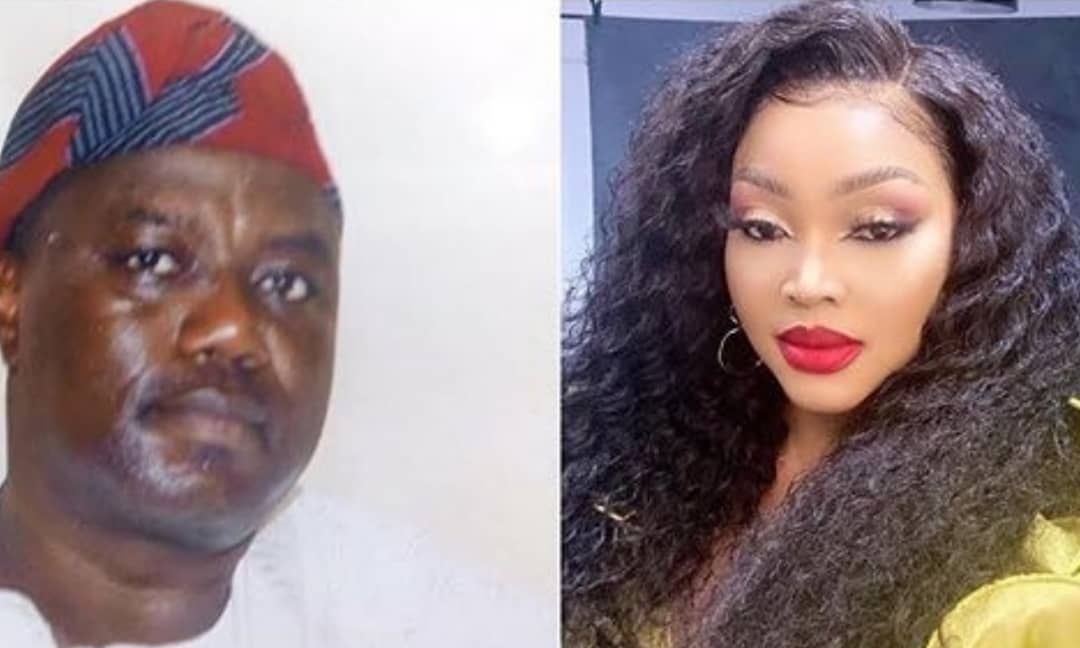 Mercy Aigbe's estranged husband reacts