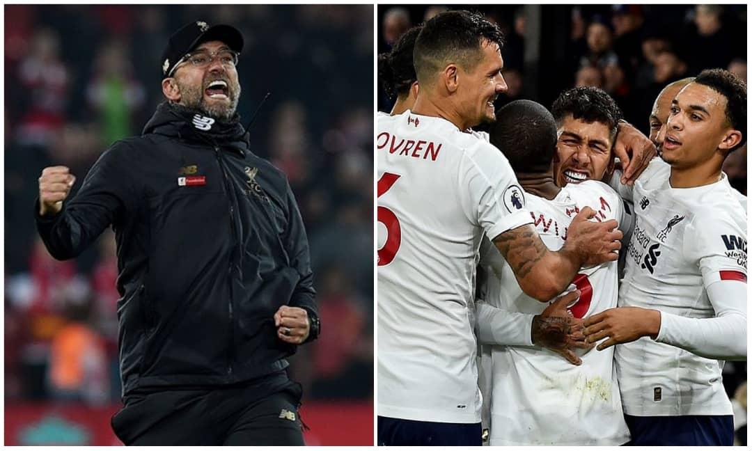 Liverpool wins first PREMIER LEAGUE