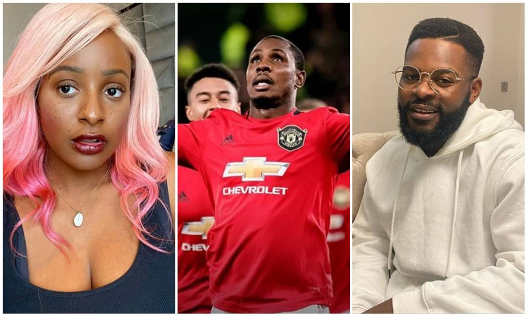 Falz mocks DJ Cuppy's decision of dumping Arsenal for United