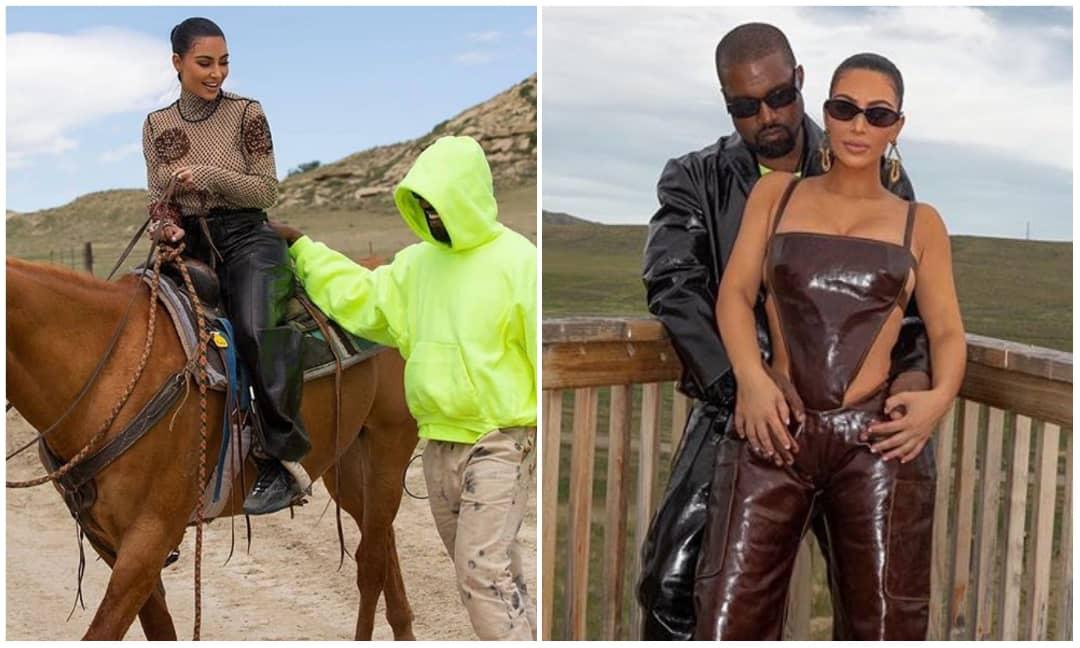 Kanye West welcomes Kim Kardashian