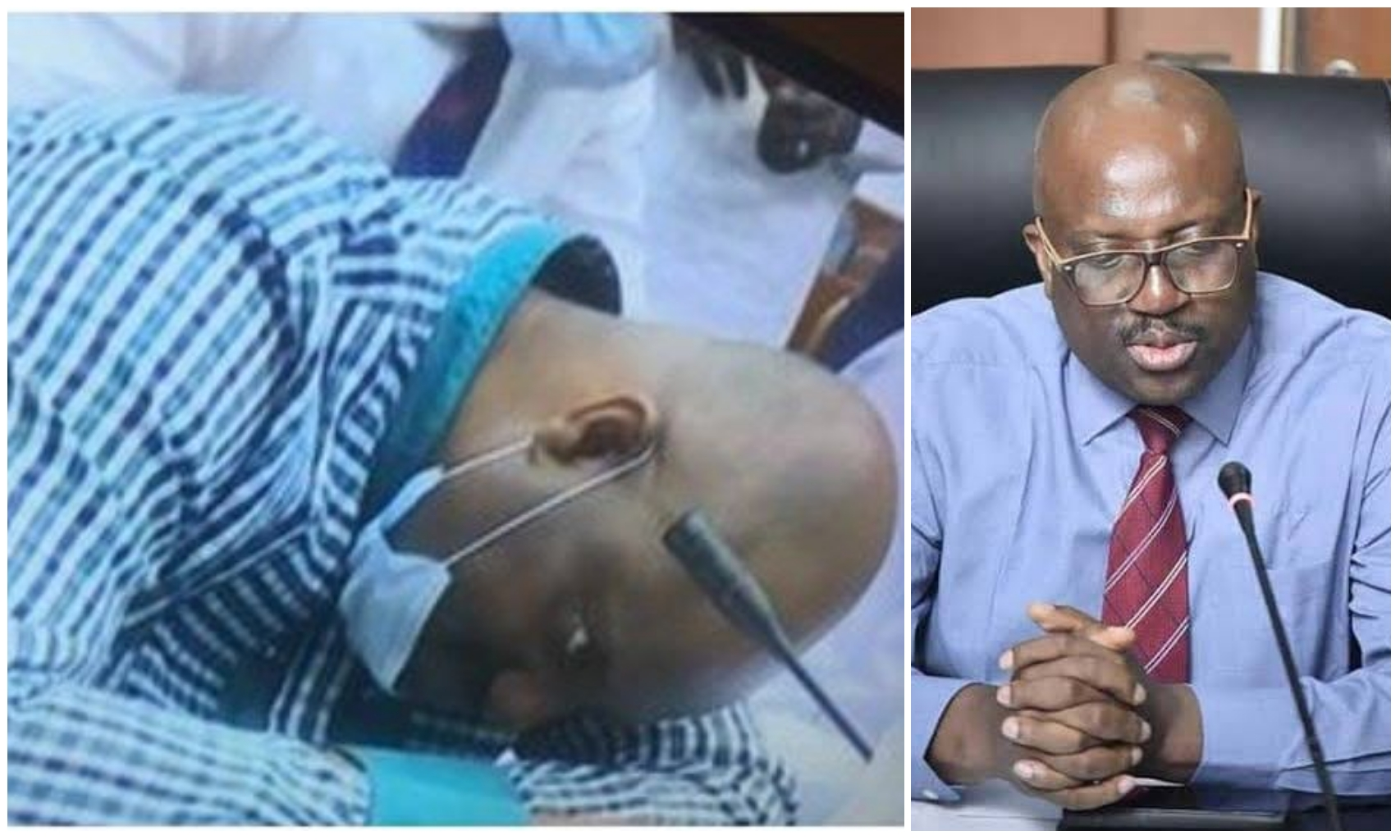 Acting NDDC chairman, Daniel Pondei collapses while being probed for alleged embezzlement (Video)