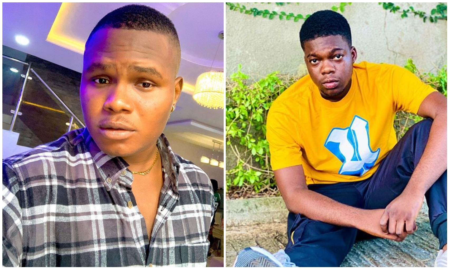 Drama as comedians Cute Abiola and Oluwadolarz fight dirty on IG live video
