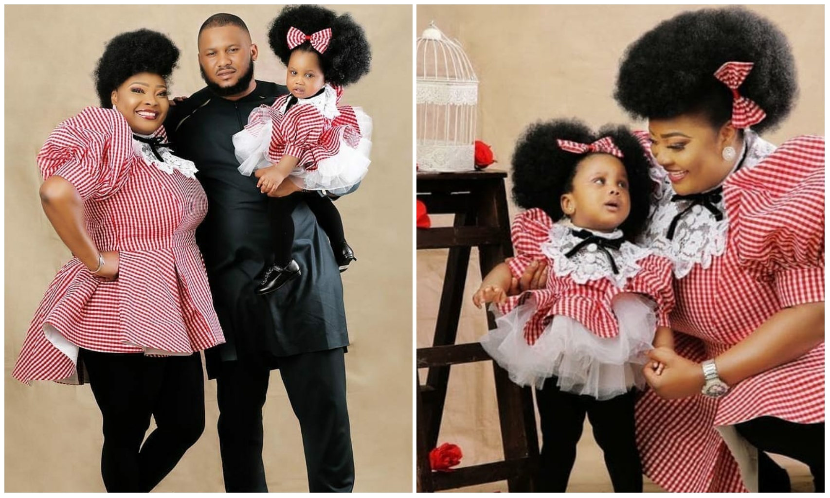 Ronke Odusanya celebrates daughter Fifehunmi, 1st birthday in grand style (Photos)
