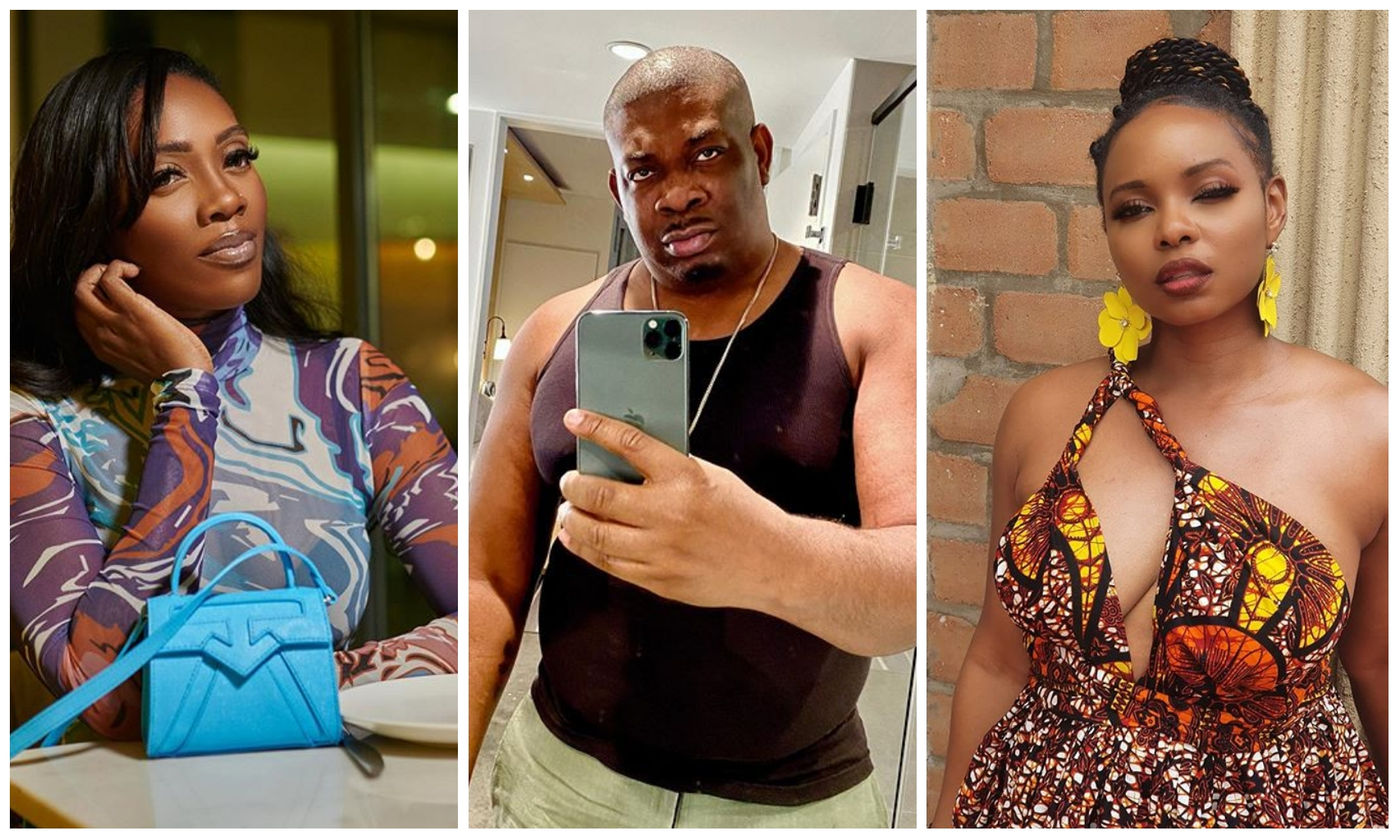 DSS quizzes Don Jazzy, Tiwa Savage, Yemi Alade over alleged political statement