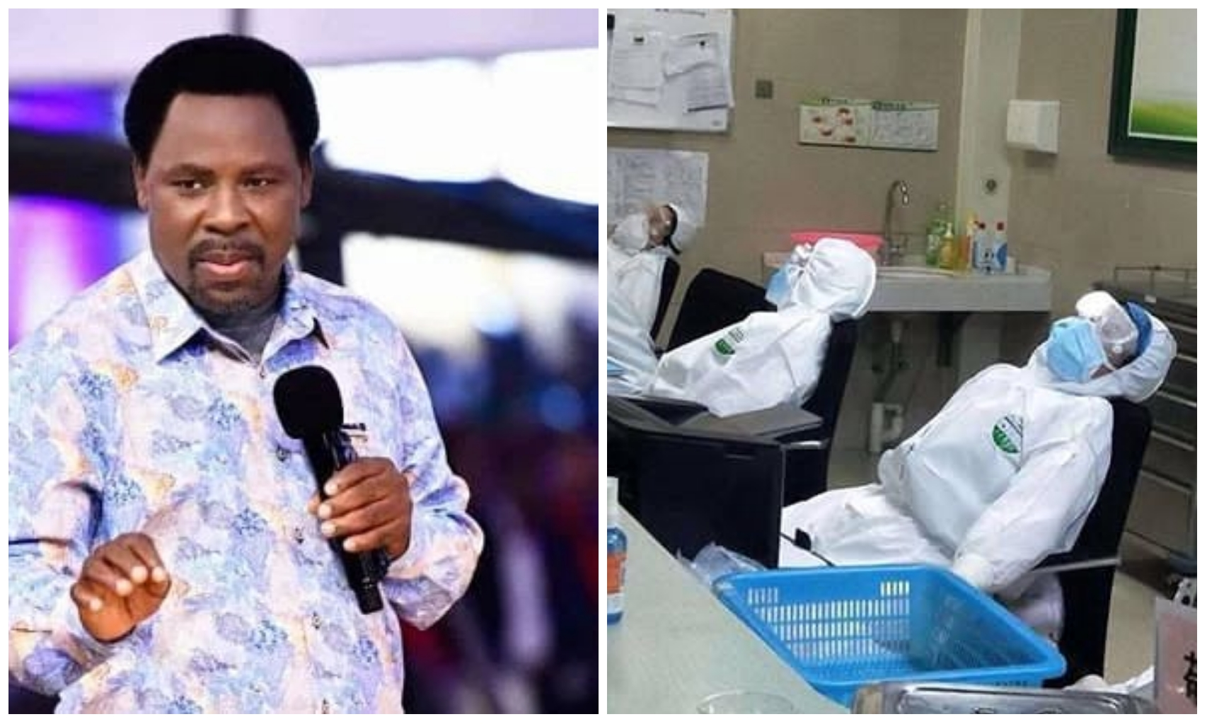 Allow me to heal all Covid-19 patients – T.B Joshua implores Government