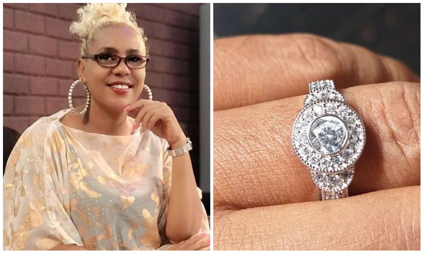 Actress Shan George gets engaged for the 4th time at age 50, marriage to hold soon