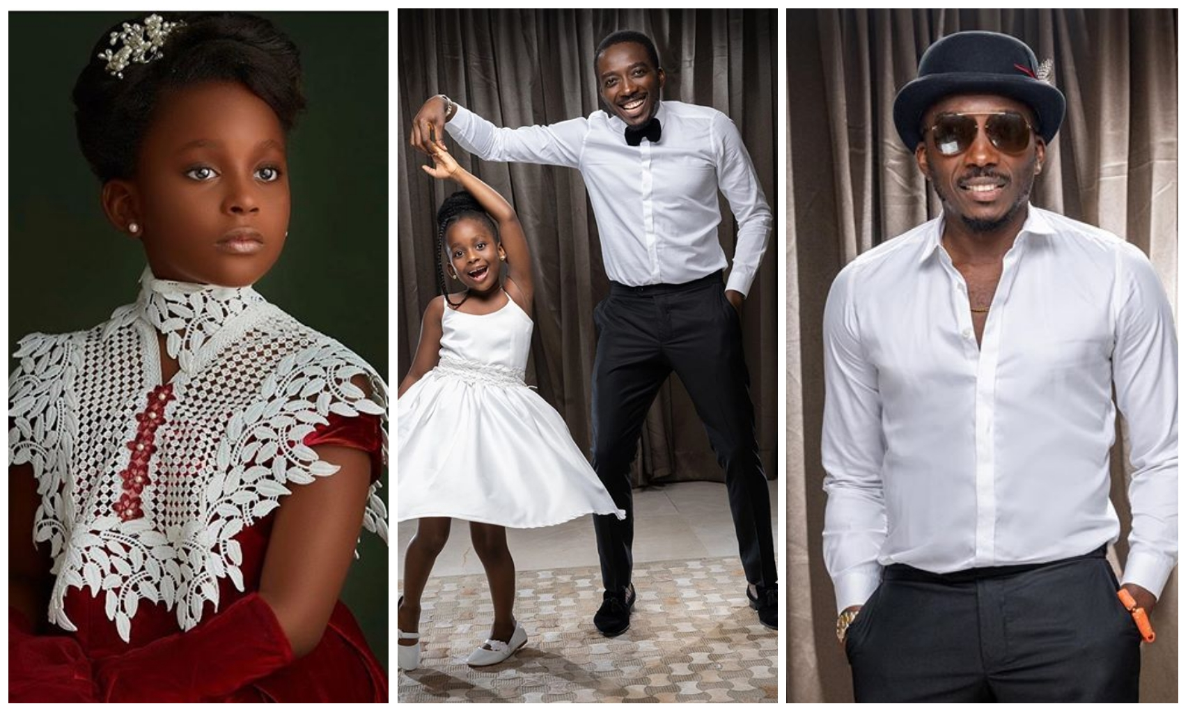 Comedian Bovi and daughter, Uyoyo, celebrates their birthday in grand style (Photos)