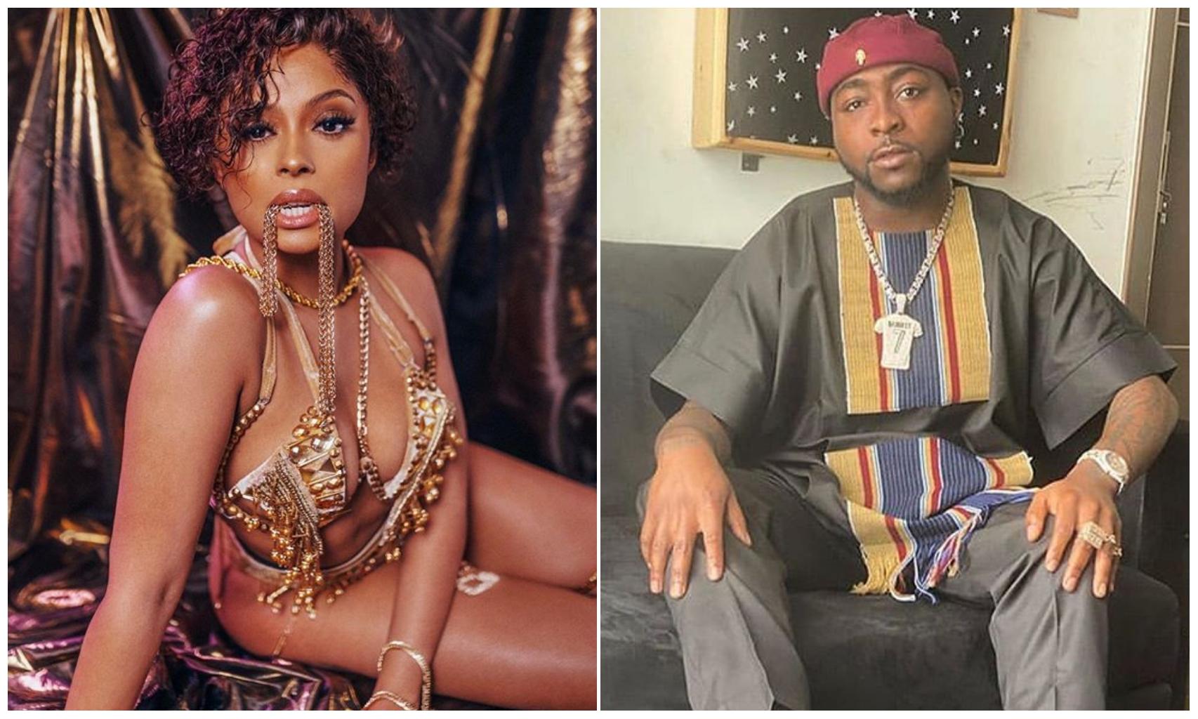 I was never signed under Davido's record label – Singer Lola Rae speaks up