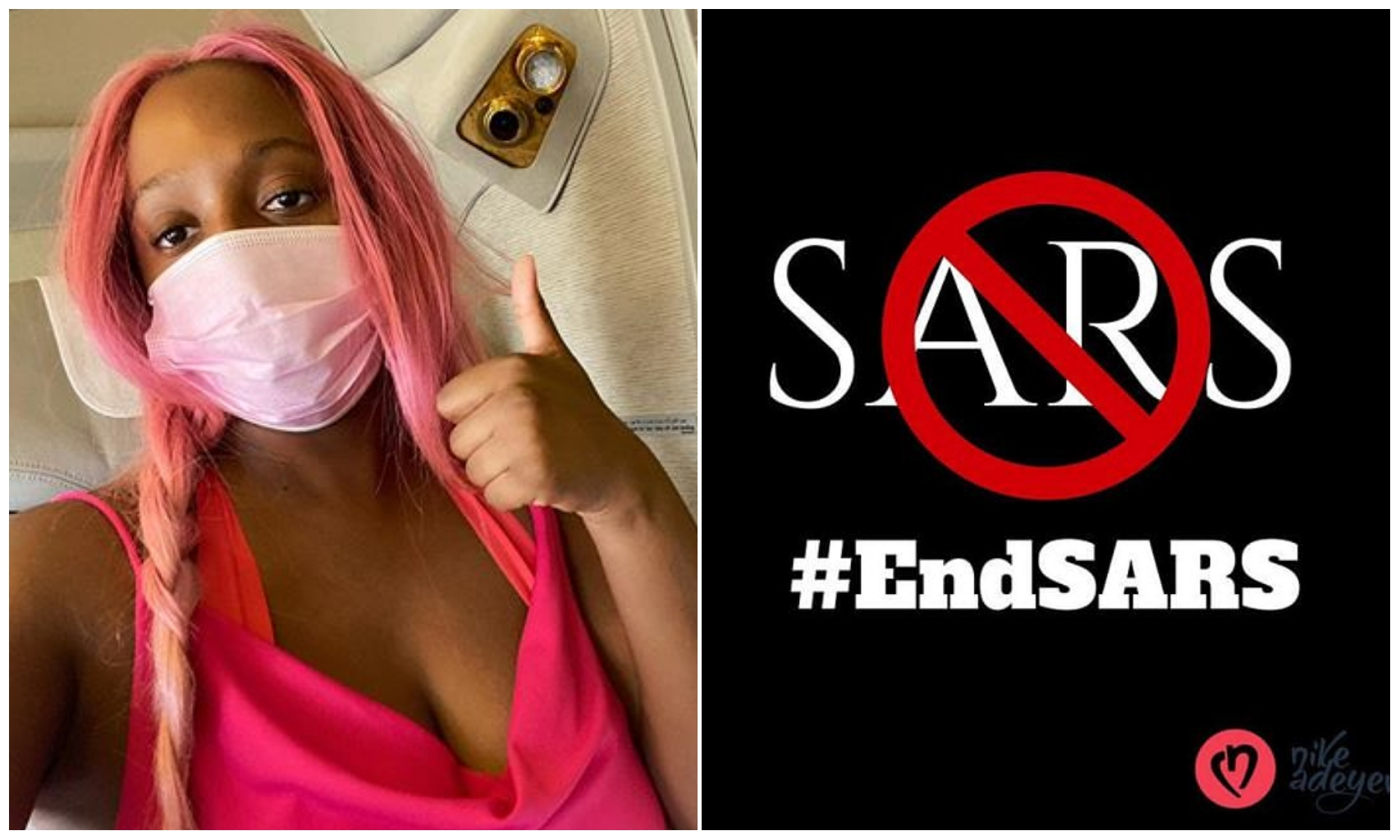 Why I have failed to join EndSars protest despite arriving in Nigeria –DJ Cuppy