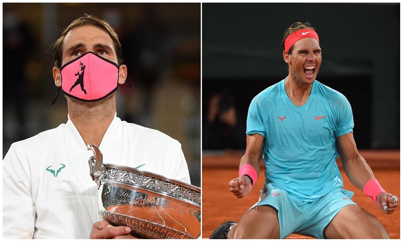 Rafael Nadal clinch 13th Roland Garros to equal Roger Federer's 20 Grand Slam titles