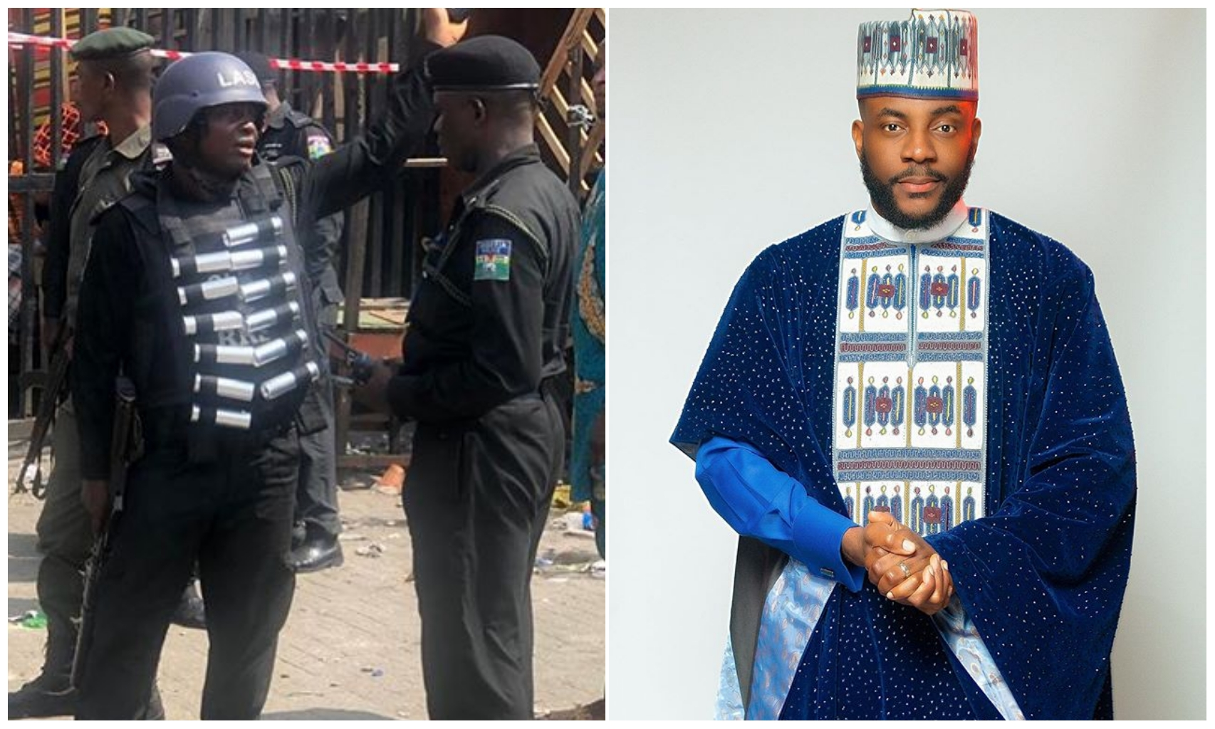 EndSars: 'A gun was pointed at me' – Ebuka narrates his ordeal with SARS operatives (Video)