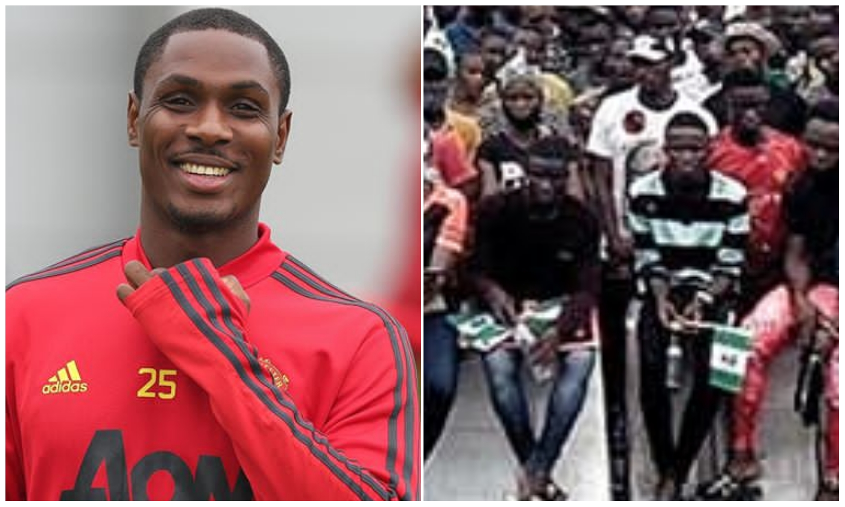 EndSars: Odion Ighalo's wife debunks rumour that their house was attacked by mobs